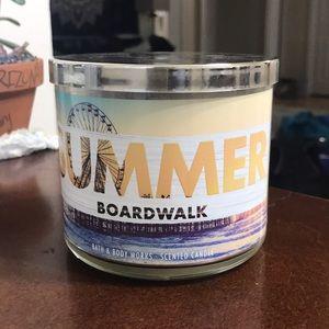 Bath & Bodyworks Summer Boardwalk Scented Candle